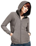 Women Hooded Fleece Jacket