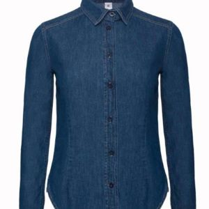 Bluse Denim-Jeans Women Miniaturansicht