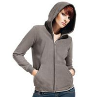 Women Hooded Fleece Jacket Miniaturansicht